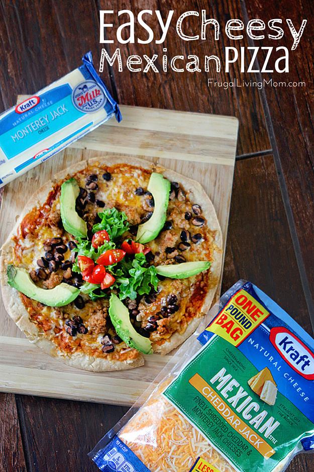 Homemade Mexican Pizza Recipe