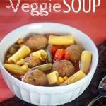 Quick Spaghetti and Meatball Soup Recipe