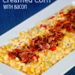 Confetti Creamed Corn with Bacon