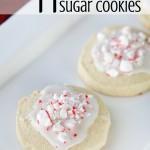 Slice and Bake Peppermint Sugar Cookies