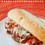 Slowcooker Tex-Mex Philly Cheesesteaks