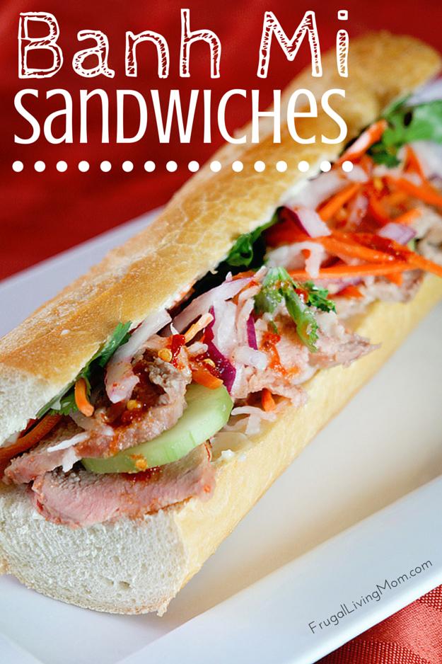 Banh Mi Sandwich Recipe