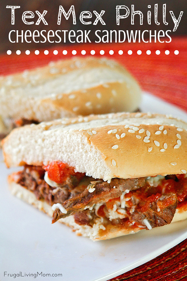 Tex-Mex Philly Cheesesteaks