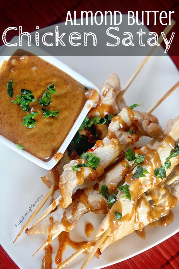 Almond Butter Chicken Satay