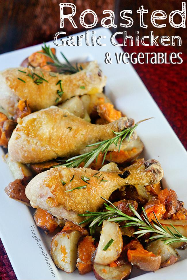 Garlic Roast Chicken Recipe