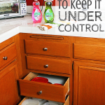 Simplify Your Kitchen to Keep it Under Control