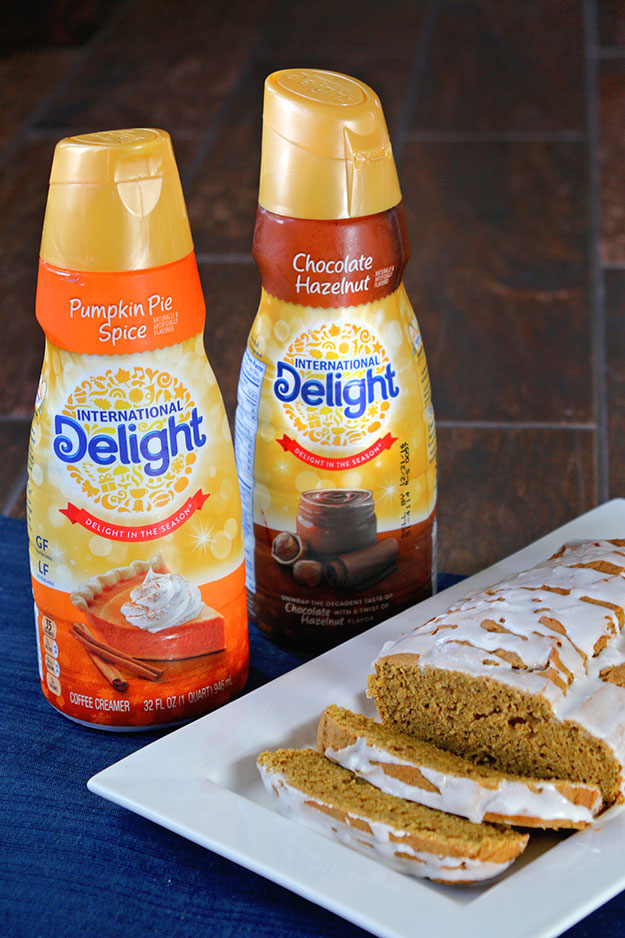 Gluten Free Pumpkin Spice Bread