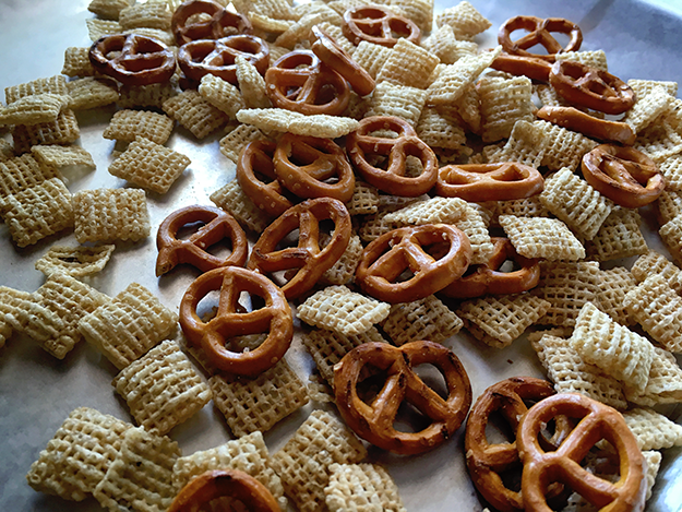 Cereal snack mix recipes