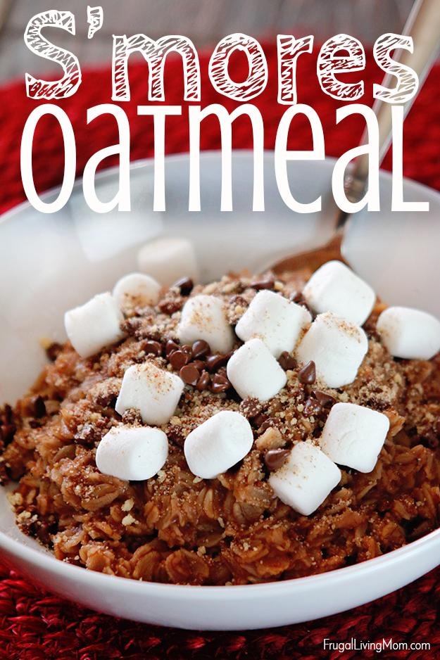 Smore Oatmeal